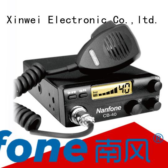 Nanfone Handheld cb radio certifications for fire truck