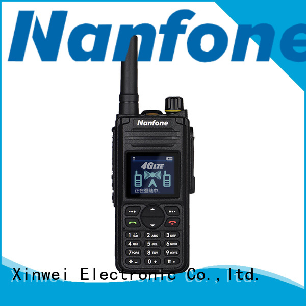 Nanfone nice cell phone walkie talkie free quote for fire truck