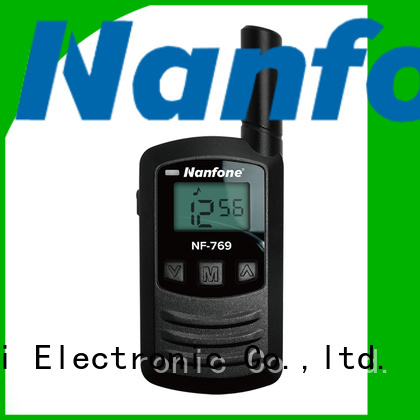 Nanfone durable PMR radio at discount for home