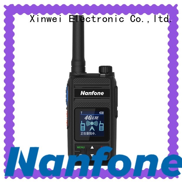 Nanfone walkie talkie phone factory price for home