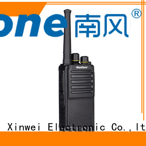 Nanfone advanced bluetooth two way radio for wholesale for hotel
