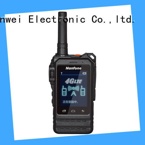 Nanfone ptt walkie talkie widely-use for hotel