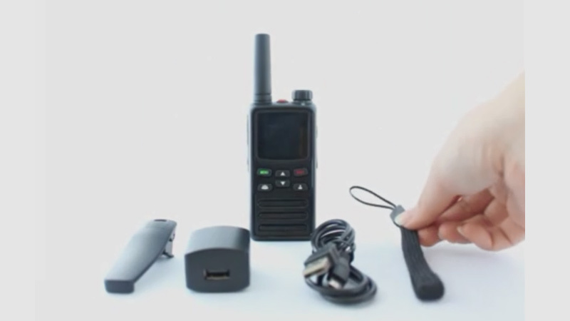 IP radio with small but powerful compact size super long standby 4G LTE