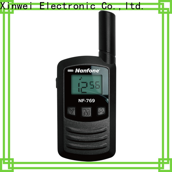 quality portable two way radio from manufacturer for security