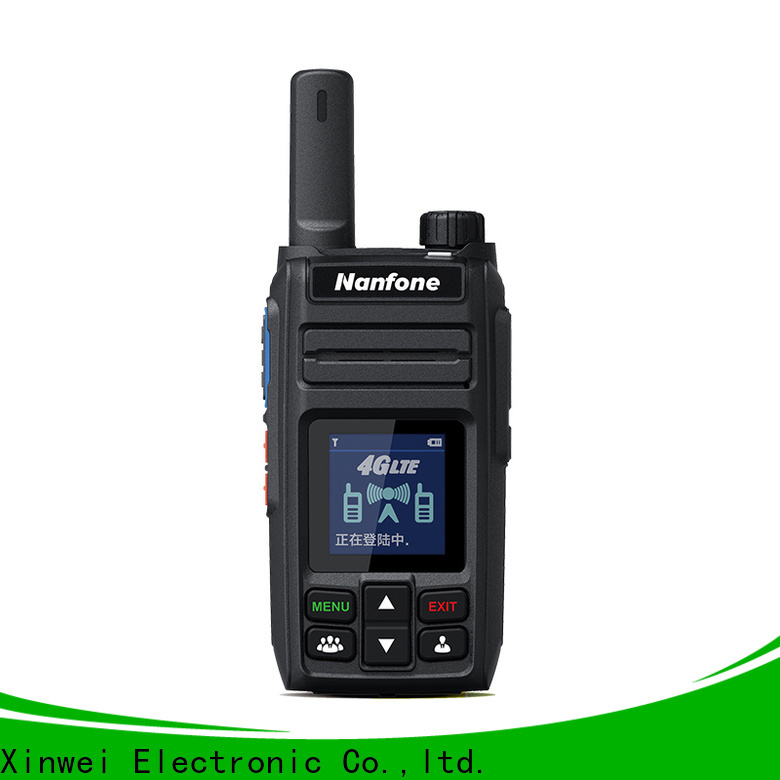 Nanfone gradely walkie talkie phones free design for activity