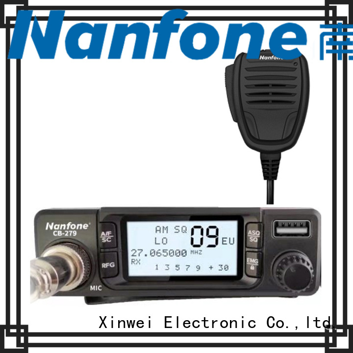 Nanfone Handheld cb radio certifications for security