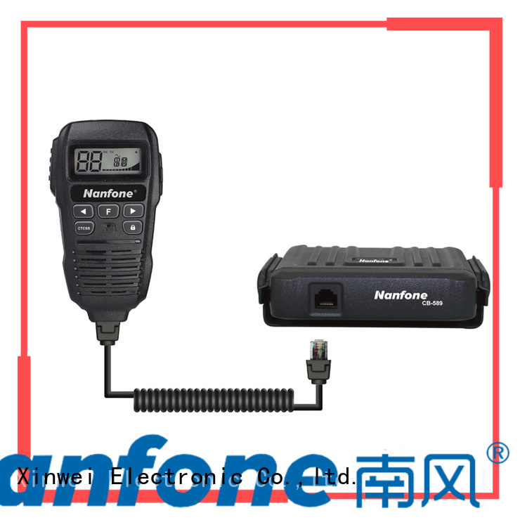 Nanfone nice cb radio certifications for truck