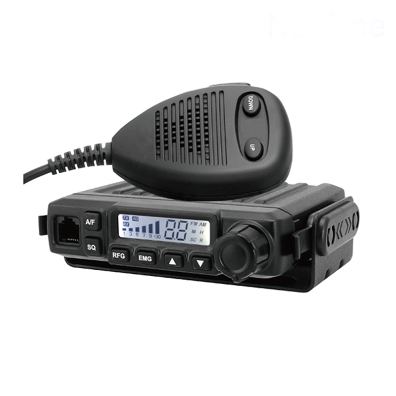 CB583 A MINI CB RADIO WITH UP AND DOWN MICROPHONE