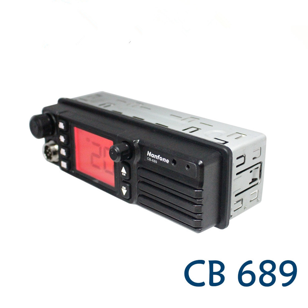 How to open the DIN frame of CB689