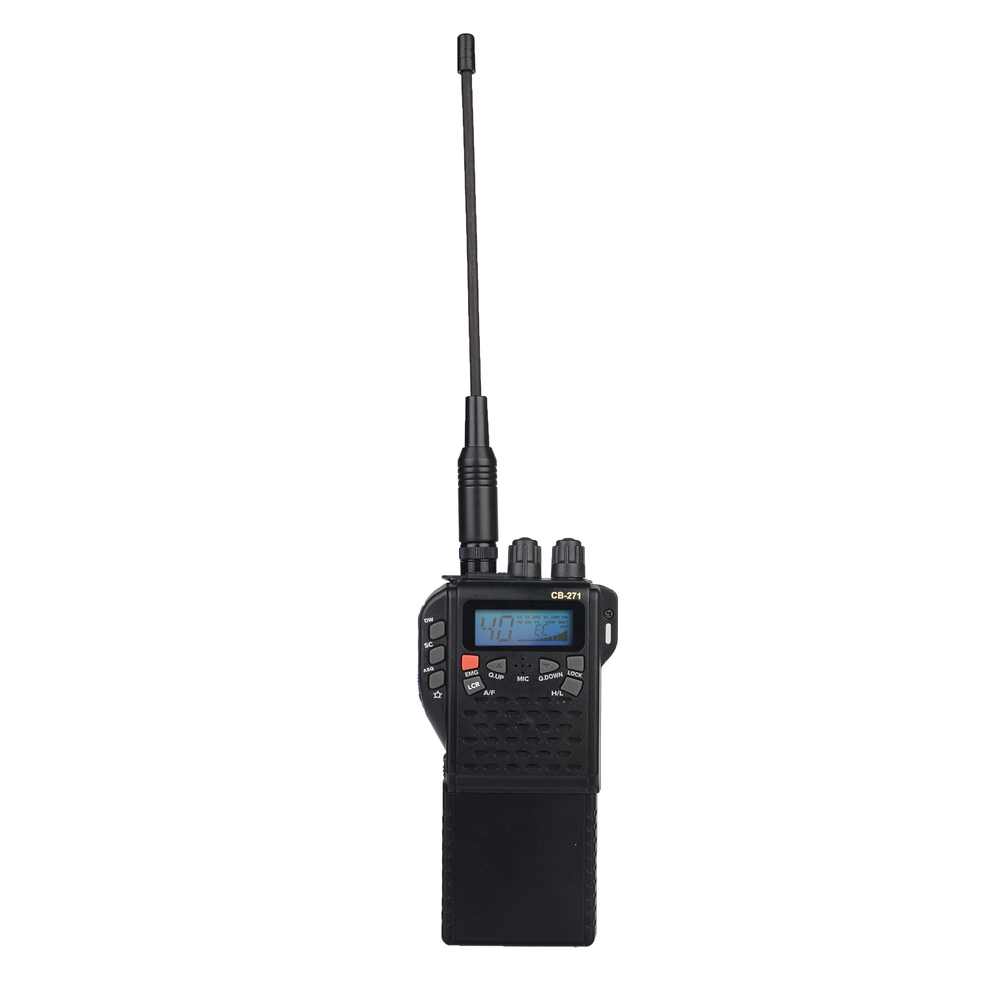 CB 271 Hand Held With Over 400 Channels Allowing To Use It In Anywhere