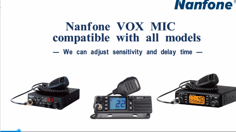 NANFONE VOX MIC COMPATIBLE WITH ALL MODELS