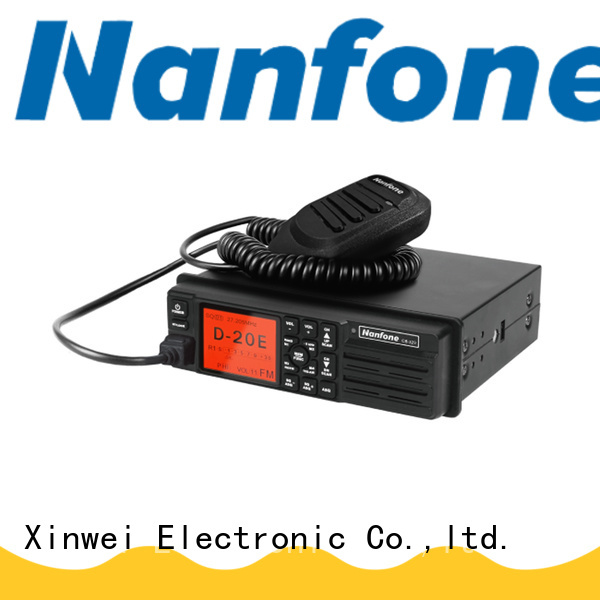Nanfone new-arrival GMRS radio free design for car