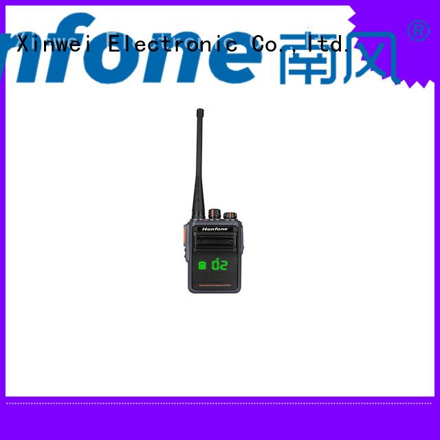 Nanfone bluetooth two way radio bulk production for hotel